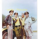 ROBERT LANSING, FRANK OVERTON, LEW GALLO & 12 O'clock High RARE 4x6 PHOTO MINT CONDITION #22