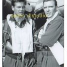ROBERT LANSING & GARY LOOKWOOD 12 O'clock High RARE 4x6 PHOTO MINT CONDITION #37