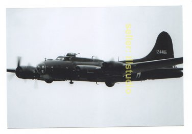 B-17 Flying Fort in Flight 12 O'clock High RARE 4x6 PHOTO in MINT CONDITION #45