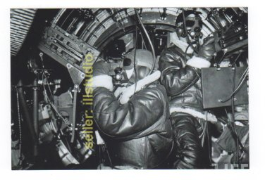 Waist Gunners in Action ~12 O'clock High RARE 4x6 PHOTO in MINT CONDITION. #46
