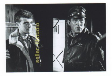 PAUL BURKE as Col. Gallagher 12 O'clock High RARE 4x6 PHOTO MINT CONDITION #48