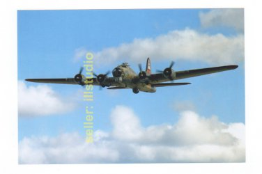 B-17 Flying Fortress 12 O'clock High RARE 4x6 PHOTO in MINT CONDITION #55