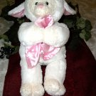 BABY GUND lamb/lovey with blanket THANK HEAVENS FOR LITTLE GIRLS