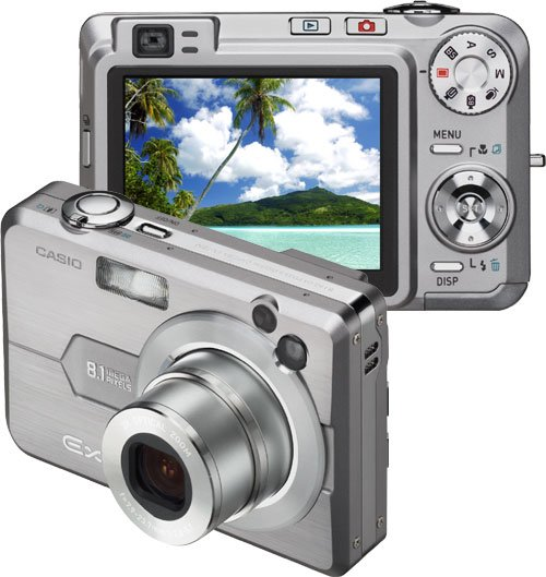 Casio Exilim EX-Z850 8.1MP Digital Camera with 3x Optical Zoom