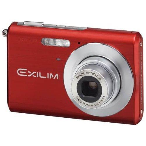 Casio Exilim EX-Z60 6MP Digital Camera with 3x Optical Zoom EX-Z60RD (Red)