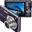 Casio Exilim EX-S770 7.2MP Digital Camera with 3x Optical Zoom (Dark Blue)