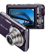 Casio Exilim EX-S770 7.2MP Digital Camera with 3x Optical Zoom (Dark Blue)