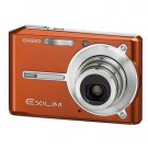 EXILIM EX-S600 6.0 MEGAPIXEL 3X OPTICAL ZOOM DIGITAL CAMERA ORANGE