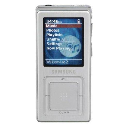 Samsung YP-Z5AS 4 GB Digital Audio Player -Silver Personal Audio Player