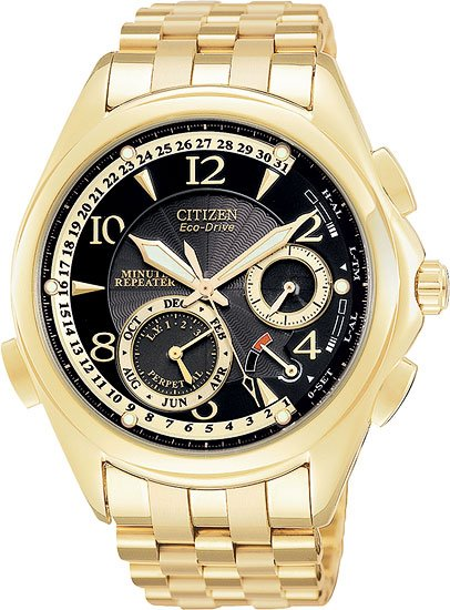 Citizen Mens Eco-Drive Minute Repeat Watch BL9002-53E