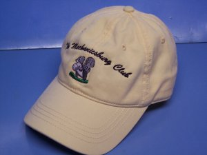 Cap America Yellow Golf Hat (Delivered)
