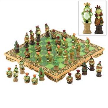 Frog Kingdom Chess Set # 13736