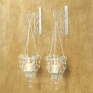 Bedazzling Pendant Sconce Duo  # 14113