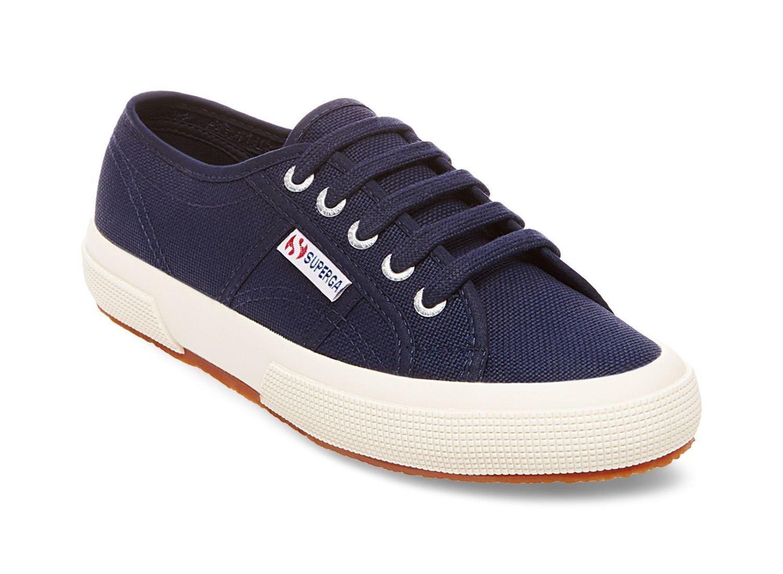 NEW Superga 2750 Cotu Classic Navy Unisex Sneakers EUR 38 - US W 7.5 - US M 6