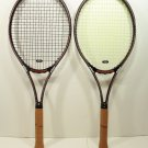 2 Custom XL 27.5 Length Prince Classic Response 97 Tennis Racquets Strung 4 3/8