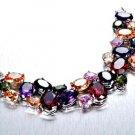 (W) 4 Colors Mixed Swarovski Crystal Bracelet #UB024-W