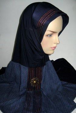 Abaya Hijab Turban Fatta Sage Muslim Cap