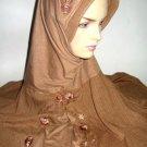 Abaya Hijab Turban Fatta Clover Muslim Cap