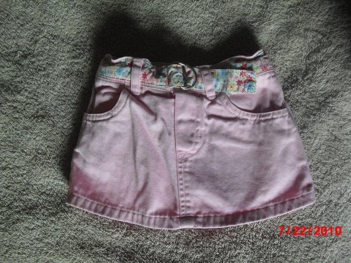 Old Navy 6-12 month girl's pink skort