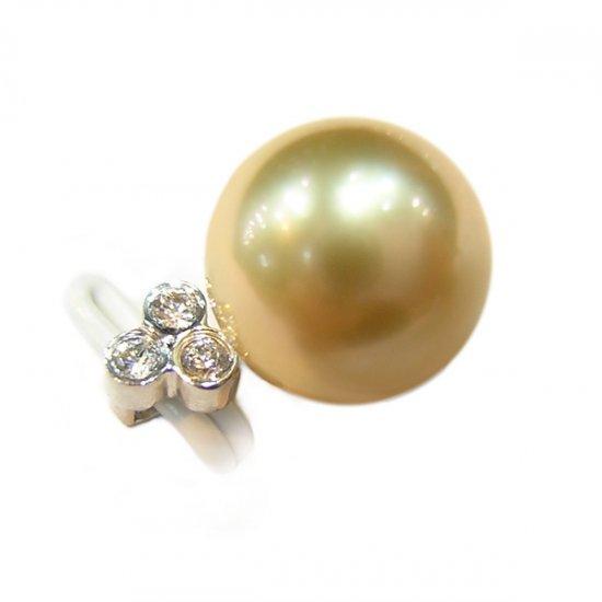 14K Gold 10-11mm Tahitian South Sea Pearl Pendants SPWG-301011008