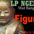 thai buddha amulet LP NGERN WAT BANGKAN BRONZE