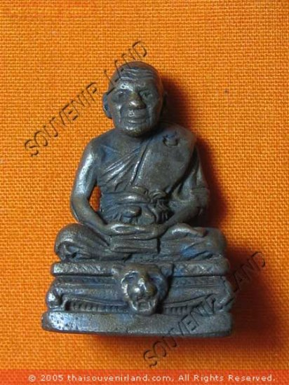 0443-THAI BUDDHIST AMULET FIGURE LP PERN ANCIENT REAL