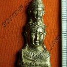 M403-REAL THAI BUDDHA AMULET MAGIC  HEAD JA-TU-KAM RAMA