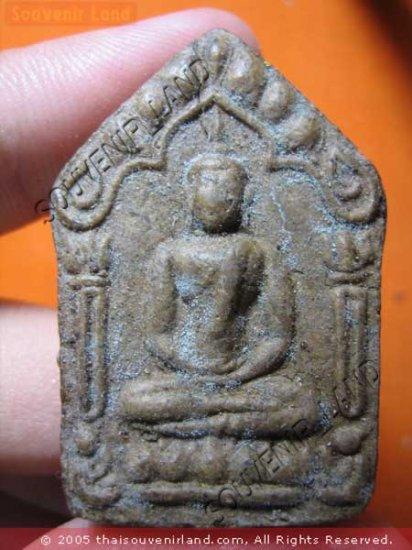 0971-OLD THAI BUDDHA AMULET KHUN-PAEN PLAI KUMAN LP TIM