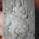 0955-OLD REAL THAI BUDDHA AMULET LP PERN TIGER POWER