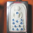 0938-THAI BUDDHA AMULET SOMDEJ GEMS CRYSTAL WAT RAKANG
