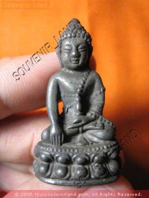0932-THAI BUDDHA AMULET PHA KRING JOW-KUN-NOR YEAR 1970