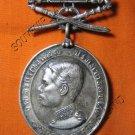 0912-OLD THAI BUDDHA AMULET COIN KING RAMA-5 HAPPY GLAD