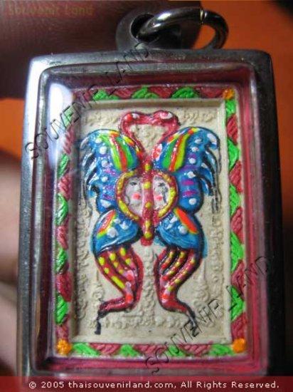 0901-THAI BUDDHA KUBA KRITSANA LOVE AMULET THAP GEM