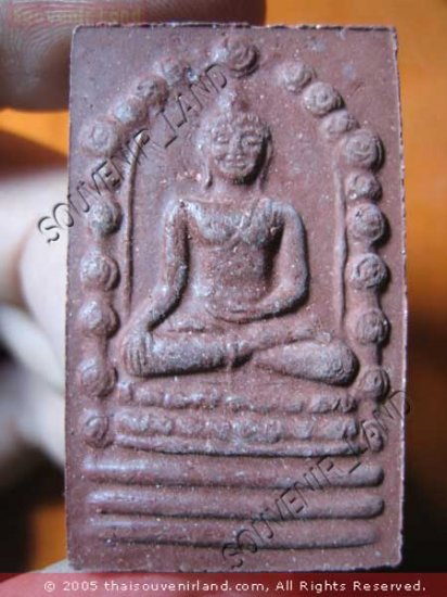 0895-THAI BUDDHA AMULET JA-TU-KAM RAMA SOMDEJ SI-HING