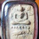0853-VINTAGE OLD THAI BUDDHA AMULET LP PARN  PORCUPINE