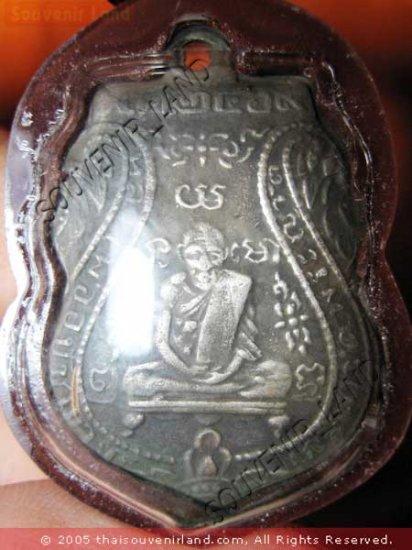 0826-THAI BUDDHA AMULET PENDENT WATERPROOF LP KLAN 1ST