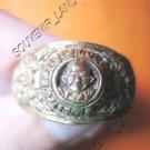 0784-VINTAGE OLD RARE THAI BUDDHA AMULET RING LP NGERN