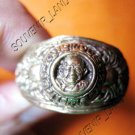 0783-VINTAGE OLD RARE THAI BUDDHA AMULET RING LP NGERN