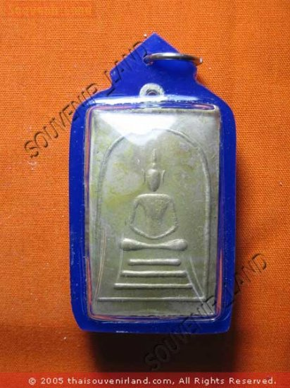 0746-THAI BUDDHA AMULET PENDENT WATERPROOF SOMDEJ TOH