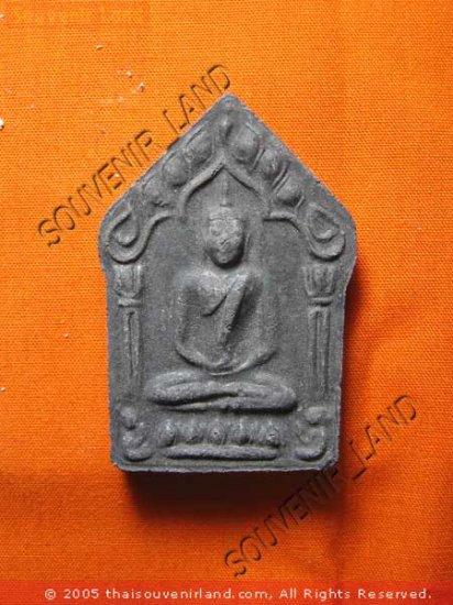 0739-OLD THAI BUDDHA AMULET KHUN-PAEN PLAI KUMAN LP TIM