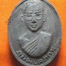 0729-VINTAGE OLD THAI BUDDHA AMULET MONK KING RAMA 9