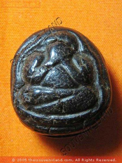 0631-THAI BUDDHIST AMULET CLOSE EYE PHA-PIT-TAH LP GAWE