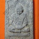 0498-RARE THAI BUDDHA AMULET TABLET CLAY SOMDEJ PI-LAN