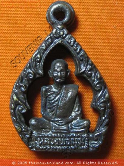 0479-THAI BUDDHA AMULET TALISMAN MONK LP MUM MAGIC