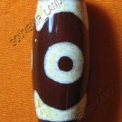 0231-NATURAL TIBETAN AGATE DZI BEAD AMULET MAGIC THAI
