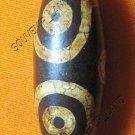 0230-NATURAL TIBETAN AGATE DZI BEAD AMULET MAGIC THAI