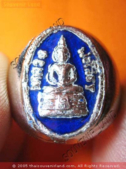 0211-VINTAGE THAI MONK MAGIC BUDDHA AMULET RING SO-TORN