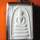 0257-VINTAGE THAI BUDDHA AMULET SOMDEJ LP PAIR 2 PUN