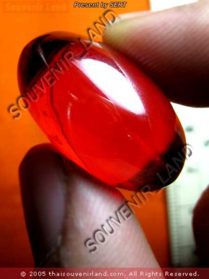 M407-BIG FAMOUS GEM STONE EYE OF NAGA BUDDHA AMULET RAR