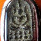 M225-THAI BUDDHA PENDANT AMULET LP BOON JINDAMANEE REAL